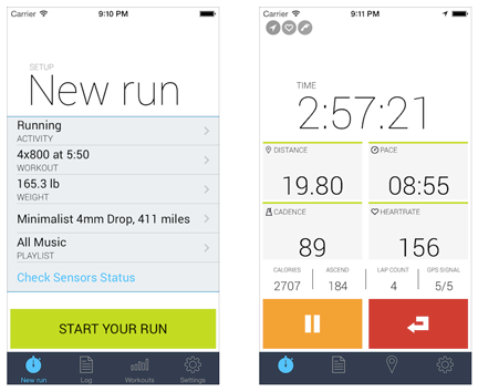 New iOS7 design screenshots